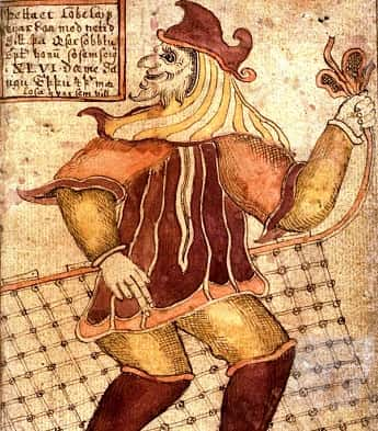 Eighteenth Century Depiction of Viking God Loki