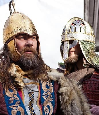 Two Viking Reenactors